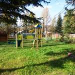 Игровая площадка детского сада