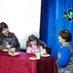 Сценка с участием дочки, мамы и бабушки